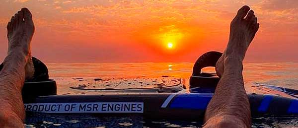 jetsurf sunrise